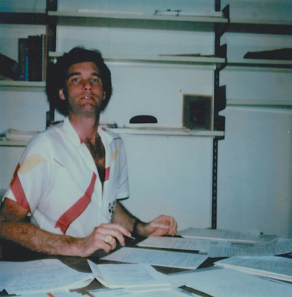 PhD student, c 1984