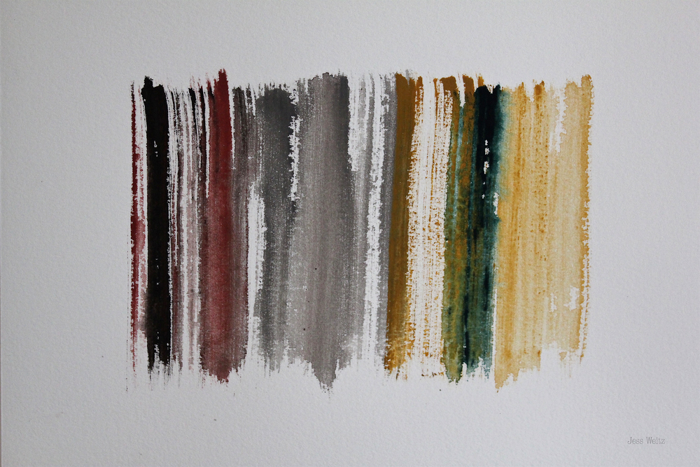 Earth Tone |   G ouache on paper, 2015