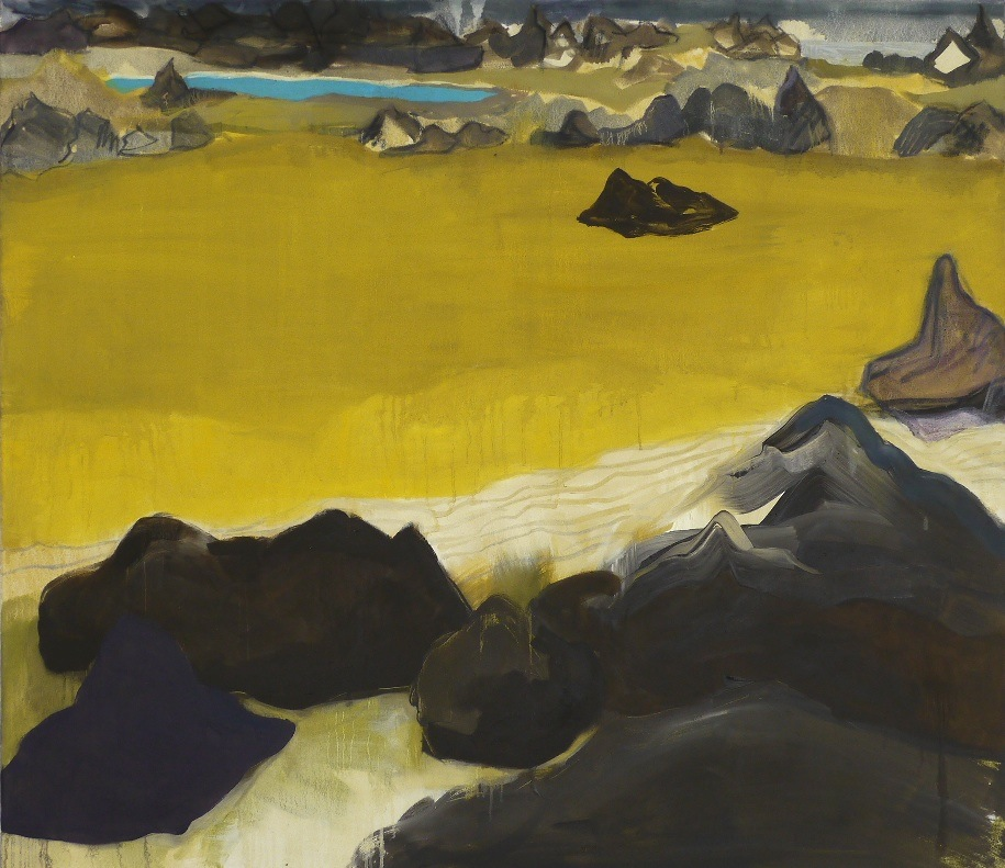 Reykjanes , oil on canvas, 105 x 120cm, 2013