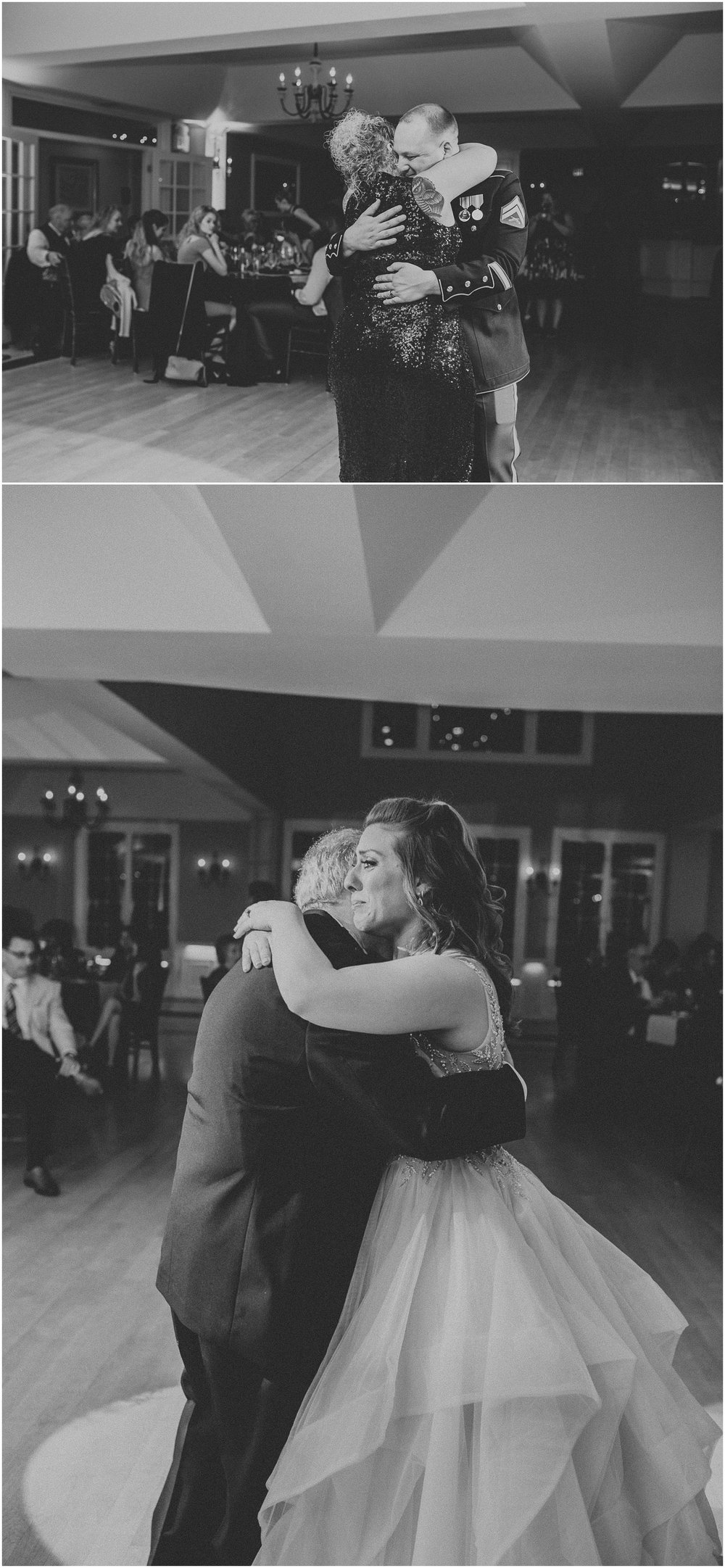 Mother Son and Father Daughter dance at Rock Island Lake Club in New Jersey
