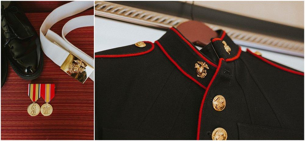 Marine Corp Dress Blues Uniform