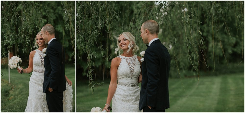 Bride and Groom portraits filled with love, fun, and laughter at The Historic Acres of Hershey in Hershey, Pennsylvania