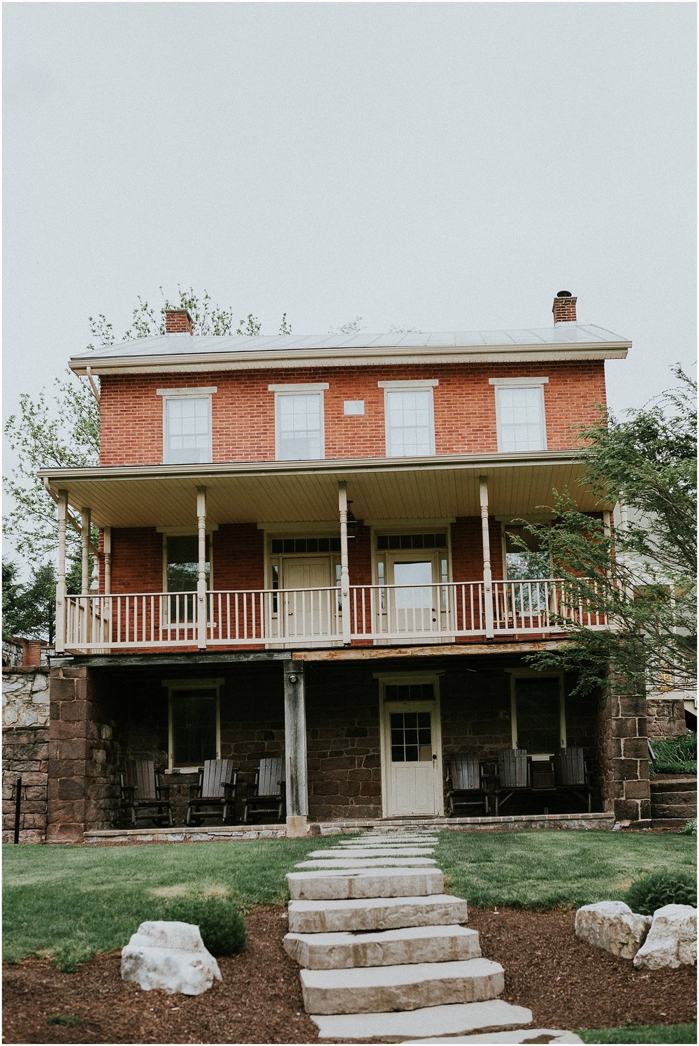 1800s Historic Farmhouse wedding venue at The Historic Acres of Hershey in Hershey Pennsylvania