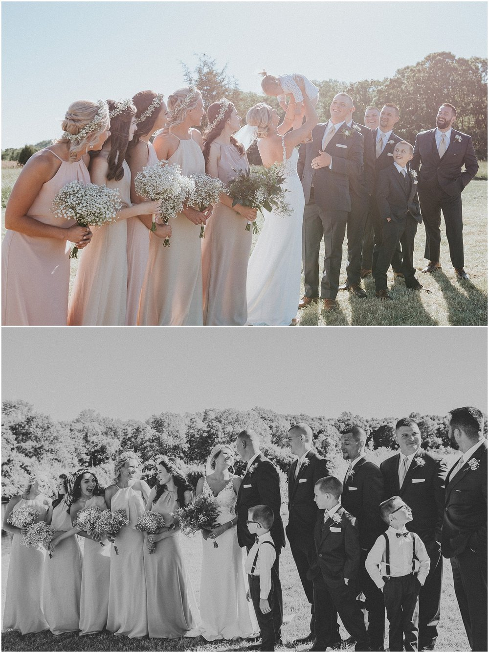Rustic themed Wedding Party in the country
