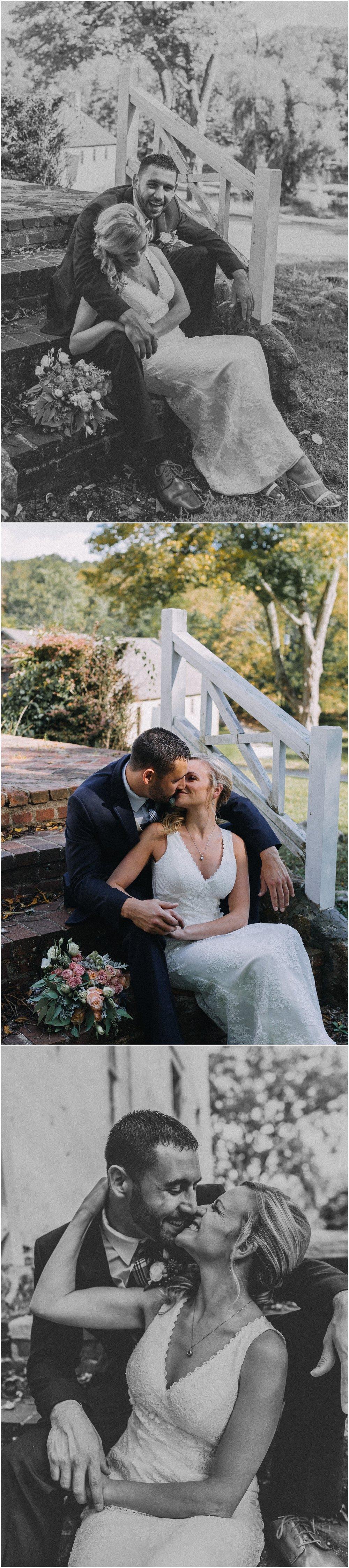 waterloo-village-waterloo village-wedding-outdoor wedding-rustic-boemian-new jersey-bride-groom-wedding party-davids bridal-wedding dress-wedding-first kiss-intimate wedding_0368.jpg
