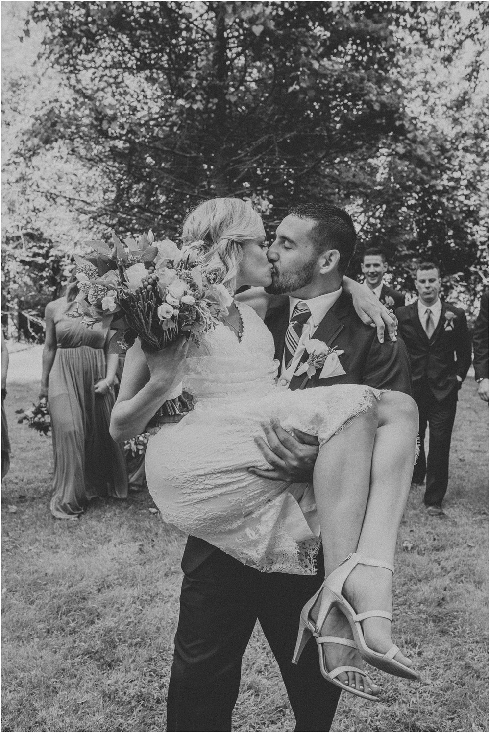 waterloo-village-waterloo village-wedding-outdoor wedding-rustic-boemian-new jersey-bride-groom-wedding party-davids bridal-wedding dress-wedding-first kiss-intimate wedding_0379.jpg