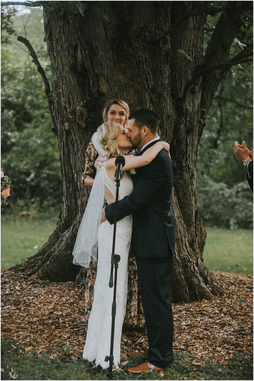 waterloo-village-waterloo village-wedding-outdoor wedding-rustic-boemian-new jersey-bride-groom-wedding party-davids bridal-wedding dress-wedding-first kiss-intimate wedding_0384.jpg