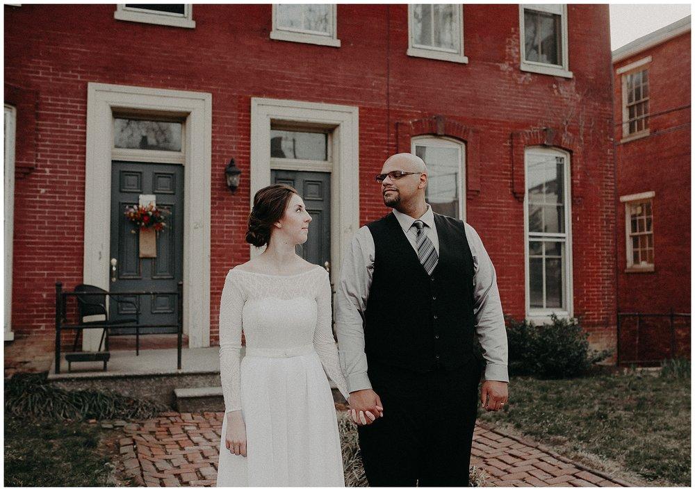 Intimate Coffeeshop Wedding at Garths Art Gallery in Columbia Lancaster Pennsylvania_0353.jpg