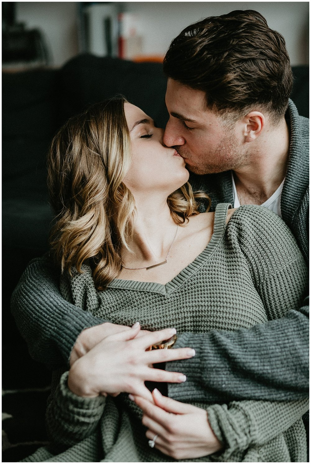 Warm and Cozy Winter Lifestyle In Home Engagement Session_0007.jpg