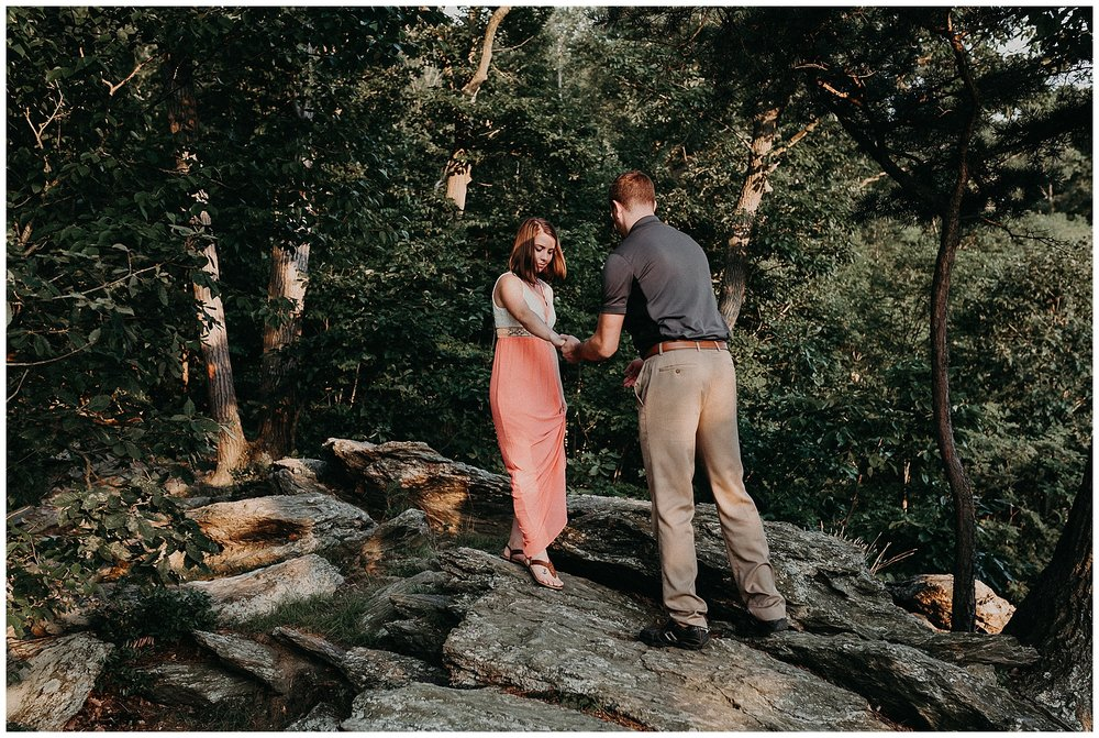 Summer sunset fun and loving Engagement Session at Pinnacle Overlook in Holtwood, Lancaster County Pennsyovania_0178.jpg