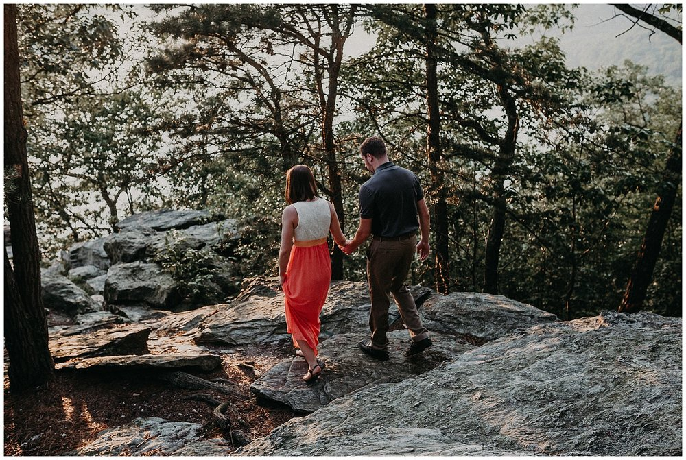Summer sunset fun and loving Engagement Session at Pinnacle Overlook in Holtwood, Lancaster County Pennsyovania_0180.jpg
