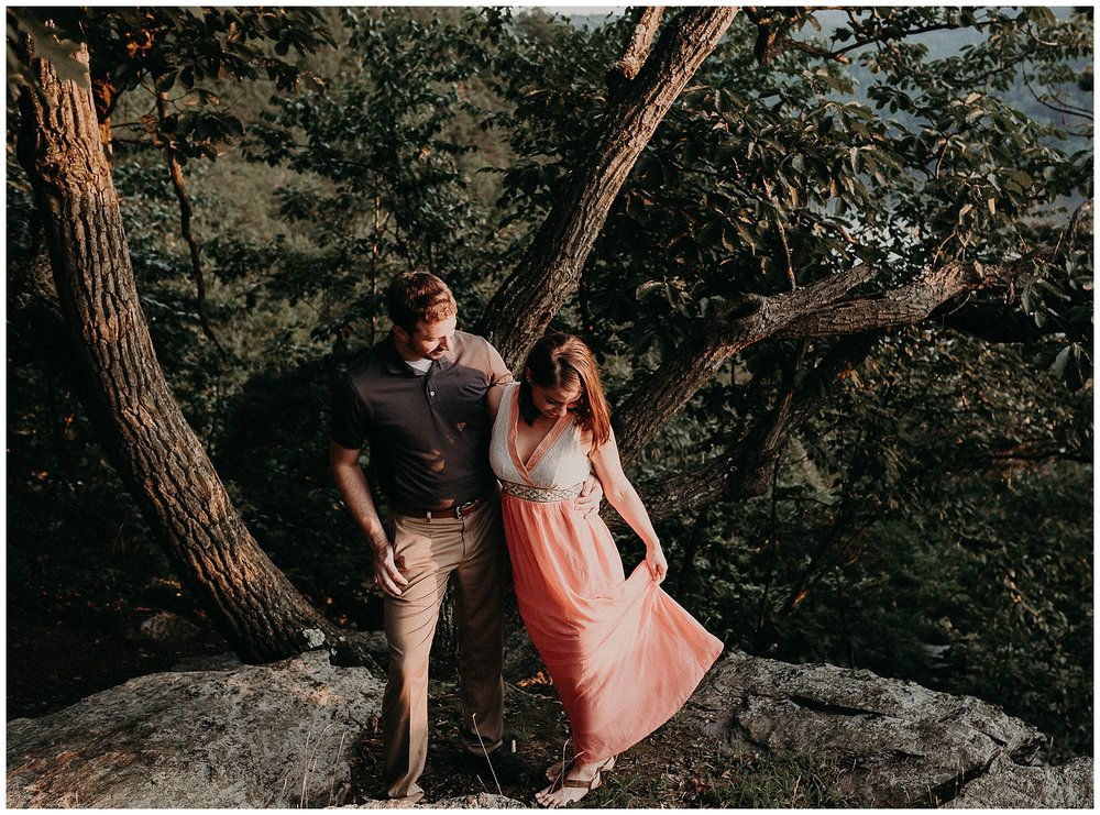 Summer sunset fun and loving Engagement Session at Pinnacle Overlook in Holtwood, Lancaster County Pennsyovania_0186.jpg