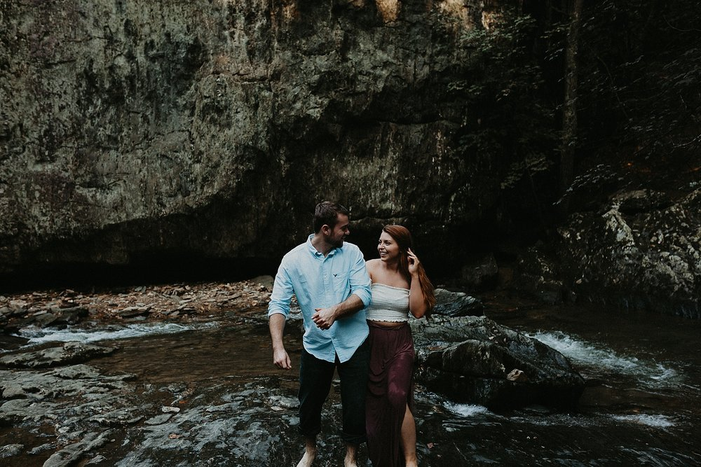 Summer Evening Boho Couples Session at Kilgore Falls Waterfalls in Pylesville Maryland_0025.jpg