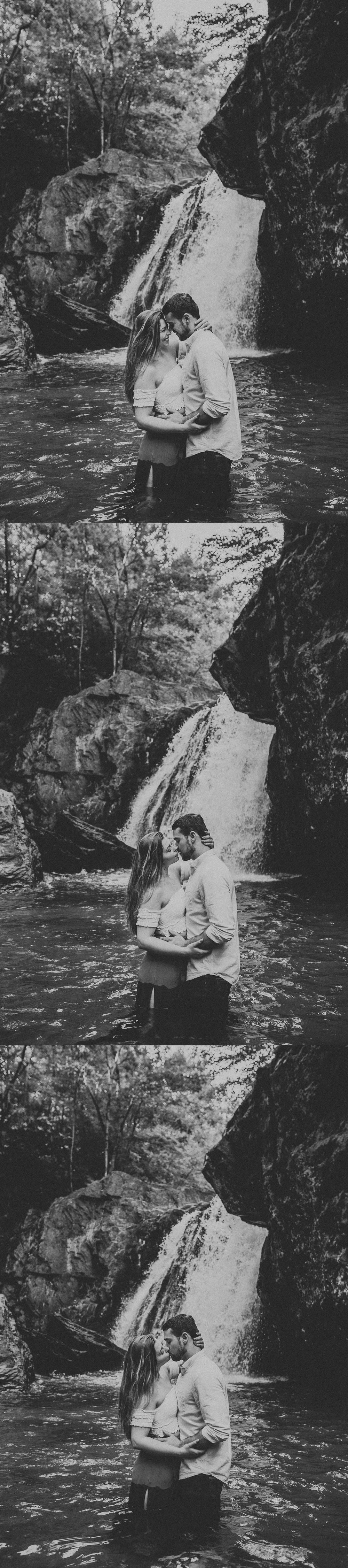 Summer Evening Boho Couples Session at Kilgore Falls Waterfalls in Pylesville Maryland_0042.jpg