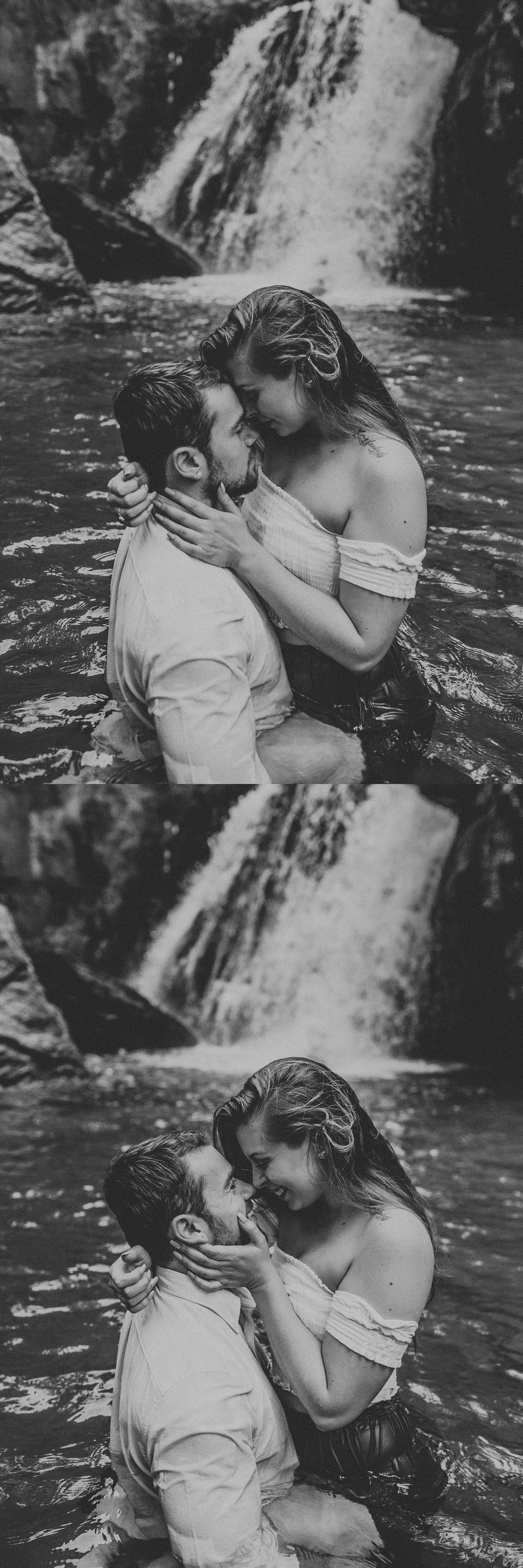 Summer Evening Boho Couples Session at Kilgore Falls Waterfalls in Pylesville Maryland_0051.jpg