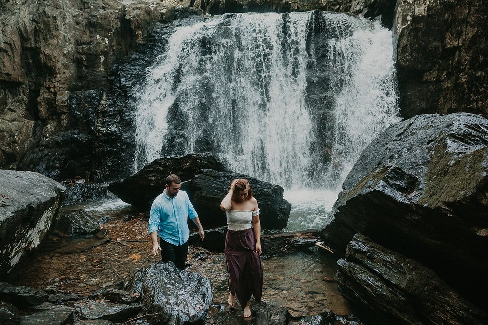 Summer Evening Boho Couples Session at Kilgore Falls Waterfalls in Pylesville Maryland_0069.jpg
