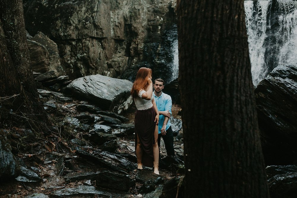 Summer Evening Boho Couples Session at Kilgore Falls Waterfalls in Pylesville Maryland_0071.jpg