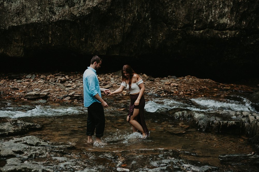 Summer Evening Boho Couples Session at Kilgore Falls Waterfalls in Pylesville Maryland_0077.jpg