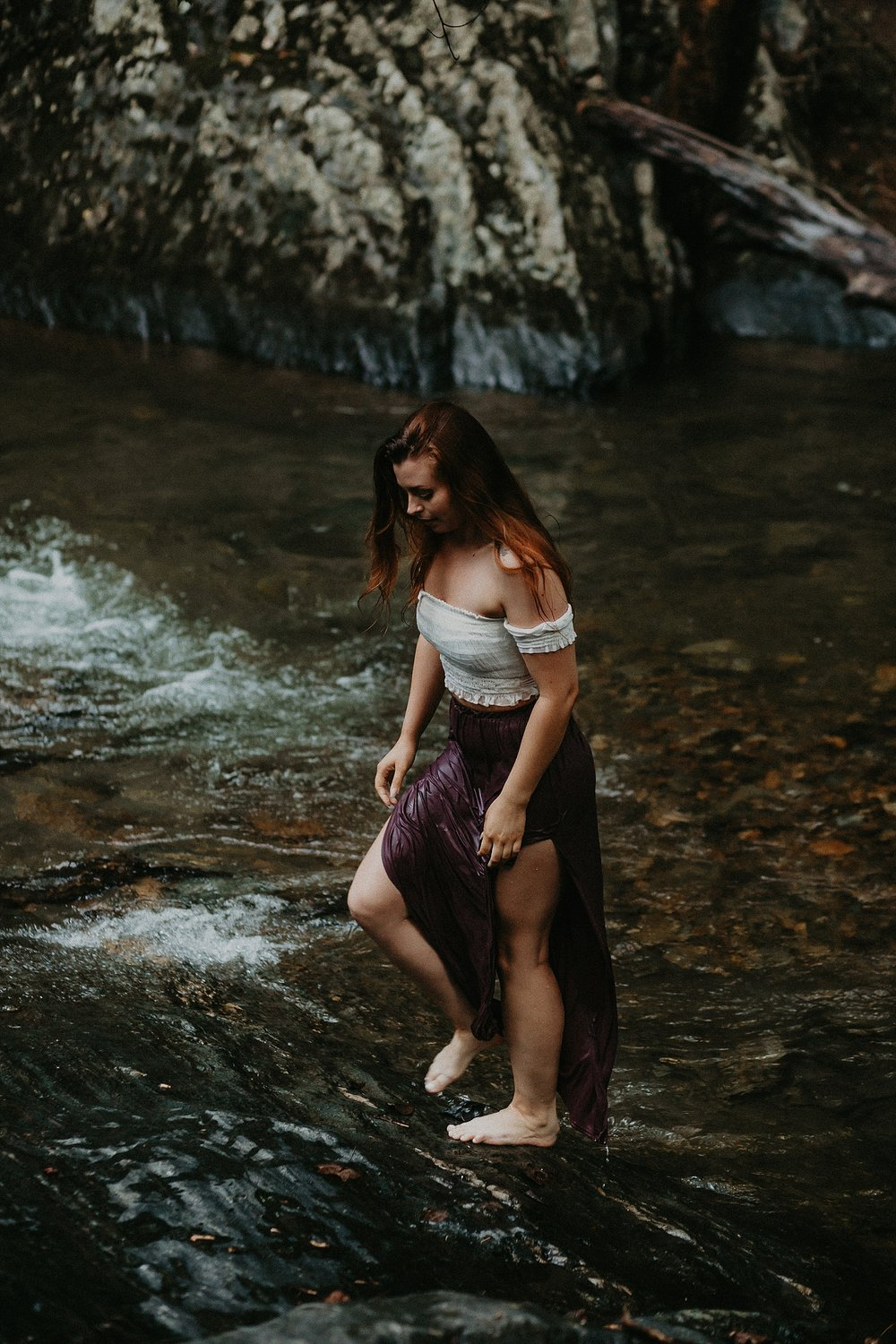 Summer Evening Boho Couples Session at Kilgore Falls Waterfalls in Pylesville Maryland_0082.jpg