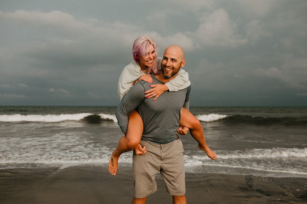 Stone Harbor beach engagement session