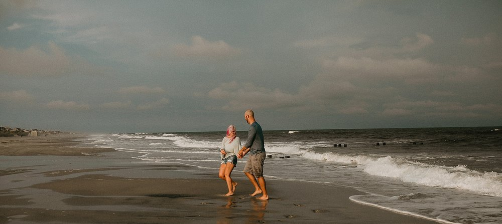 Stone Harbor engagement session
