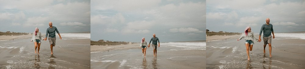 Stone Harbor beach engagement session in Stone Harbor New Jersey