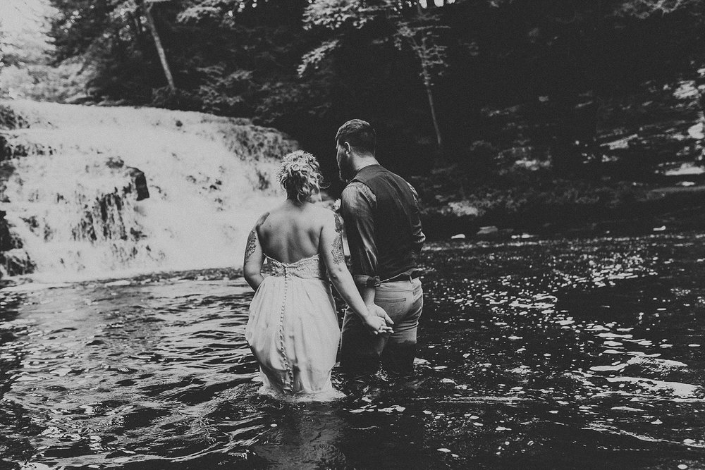 Mid Summer Adventerous Wedding with Waterfalls and Swimming in Pocono, Pennsylvania_0262.jpg