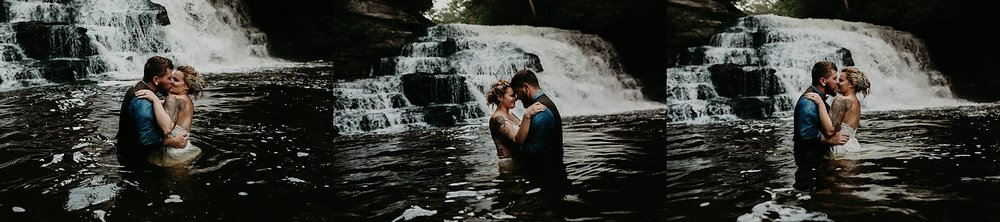 Mid Summer Adventerous Wedding with Waterfalls and Swimming in Pocono, Pennsylvania_0277.jpg