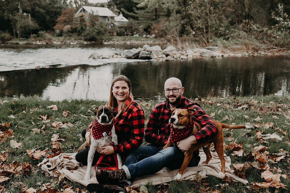 family portrait with dogs at 1181 creekside manor in mechanicsburg pa