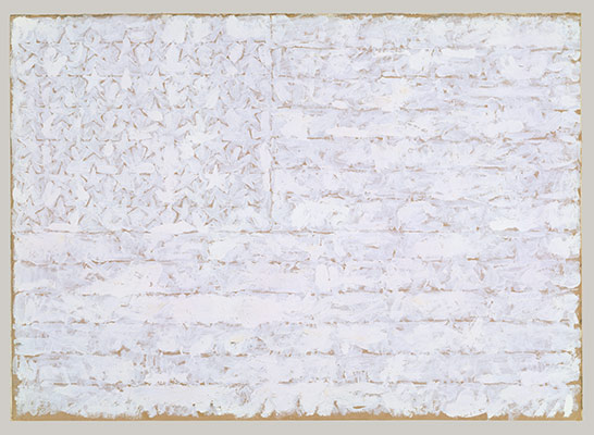 White Flag, by Jasper Johns