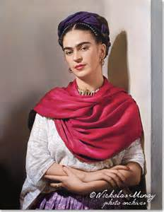 Frida Kahlo by Nicholas Muray, 1939