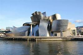 The Guggenheim Museum in Bilbao, Spain