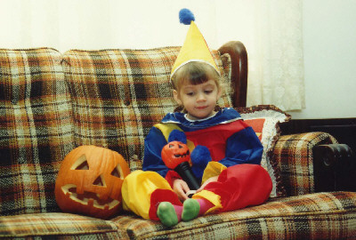 My Halloween costume circa 1988 could have also predicted my destiny.