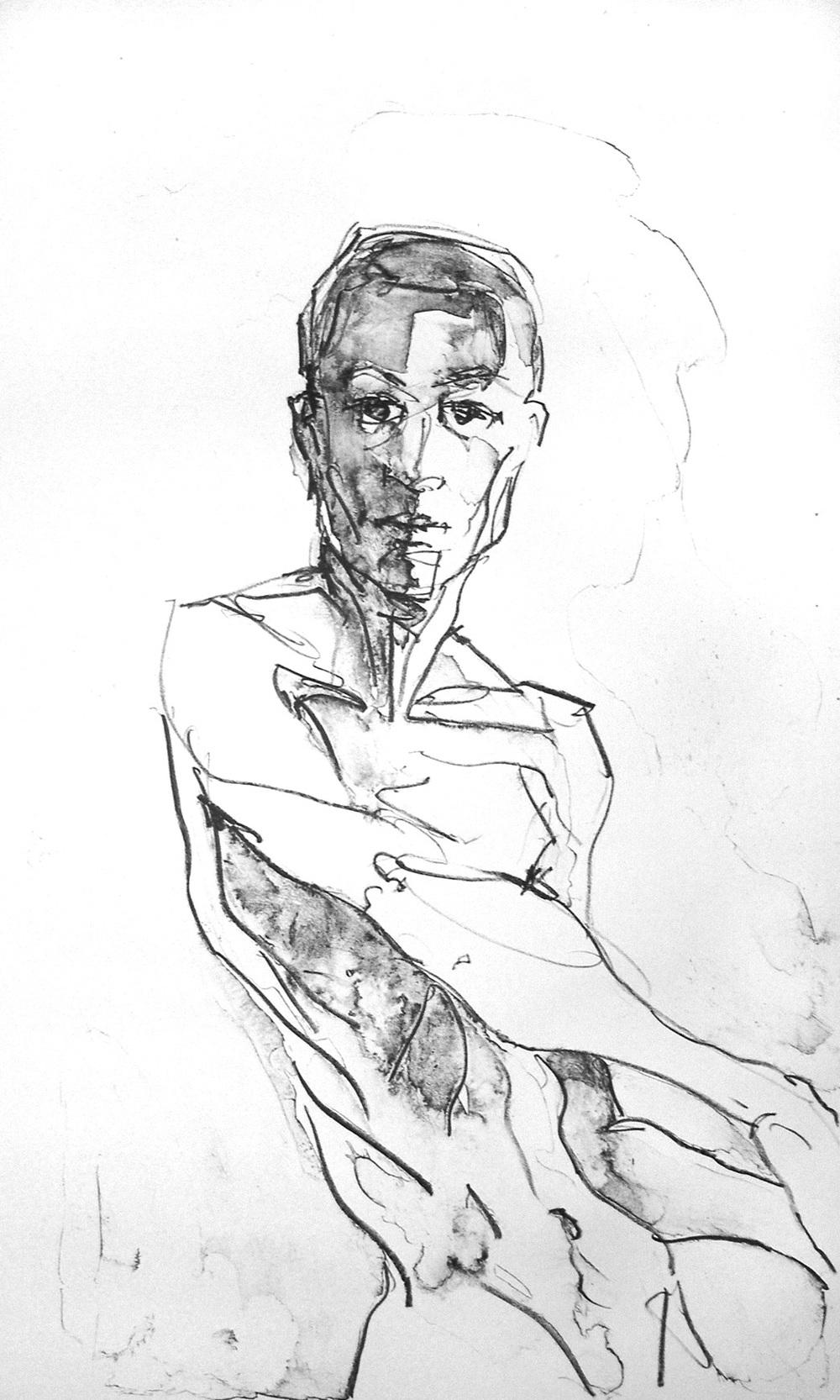 Self Portrait Standing