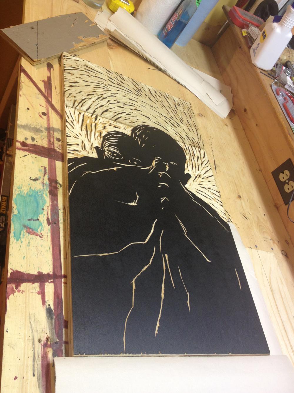 Inked block