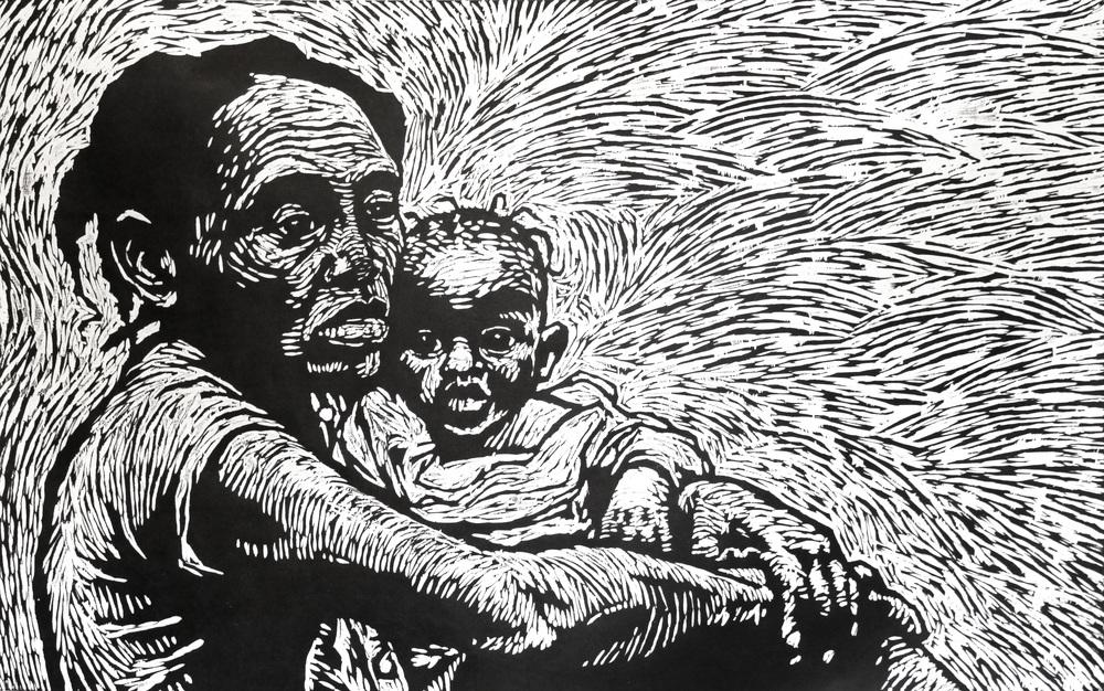 Finished print: Roseline & Wadeline Etienne