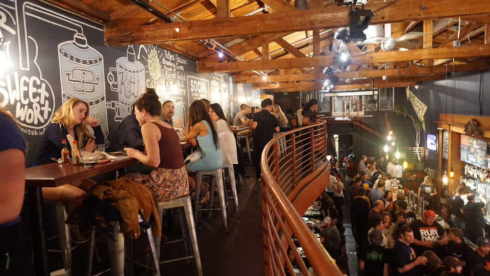 Book your next celebration on our semi-private mezzanine or rent out the entire venue! Booking inquiries contact info@socialkitchenandbrewery.com