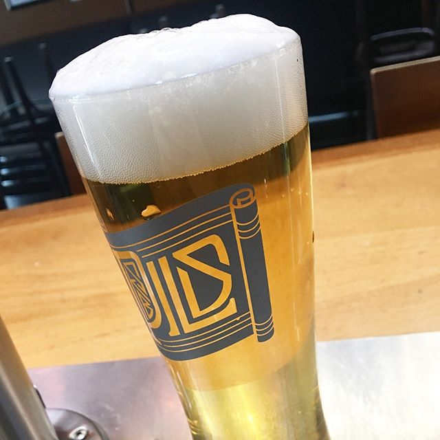 SKB Pils. Refined, crisp, clean, floral, grassy, and classic. Always on tap, always one of our favorites. Cheers 🍻