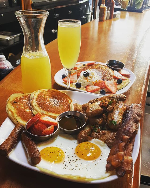 Happy St Patrick's Day Weekend! Join us for brunch Bottomless Mimosas! . . . #stpatricksday #brunch #bottomlessmimosas #jameson