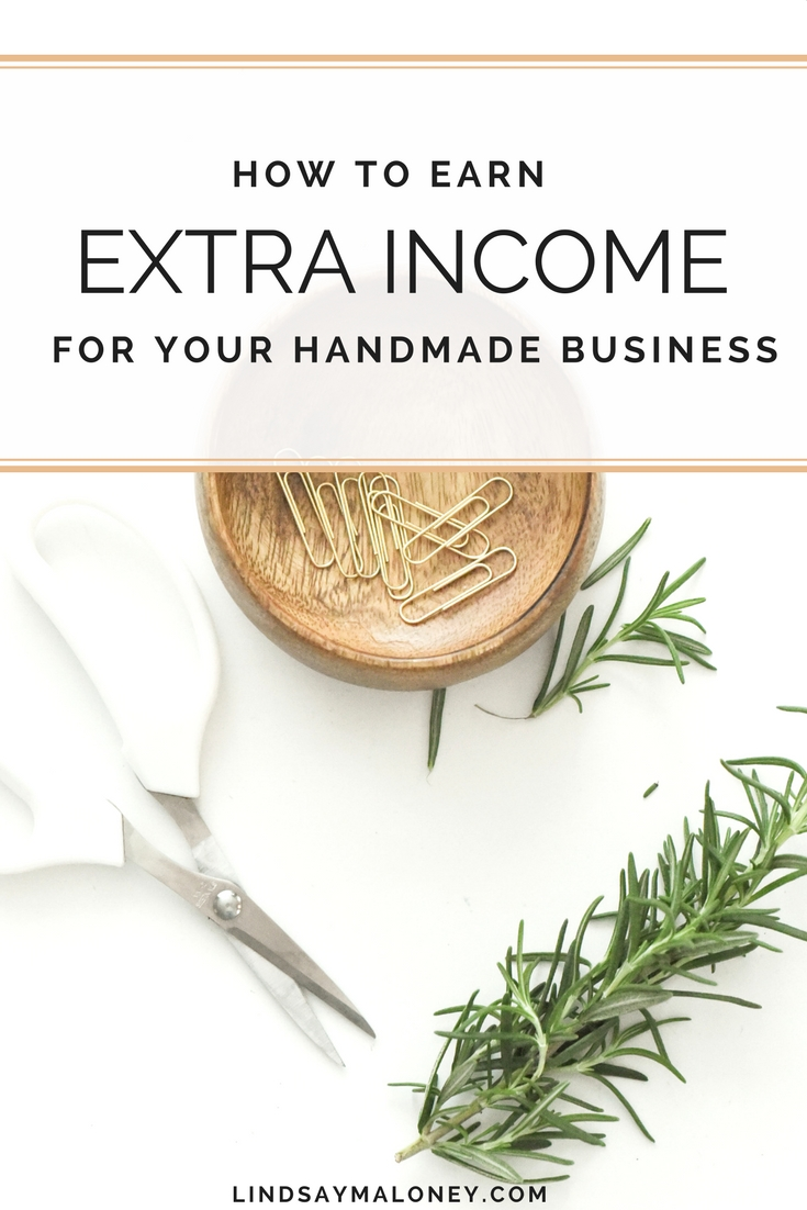 How to Earn Extra Income With Your Handmade Business