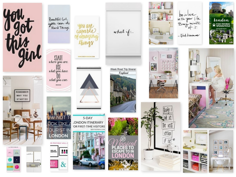 How to create a digital vision board lindsay maloney for Home design vision board