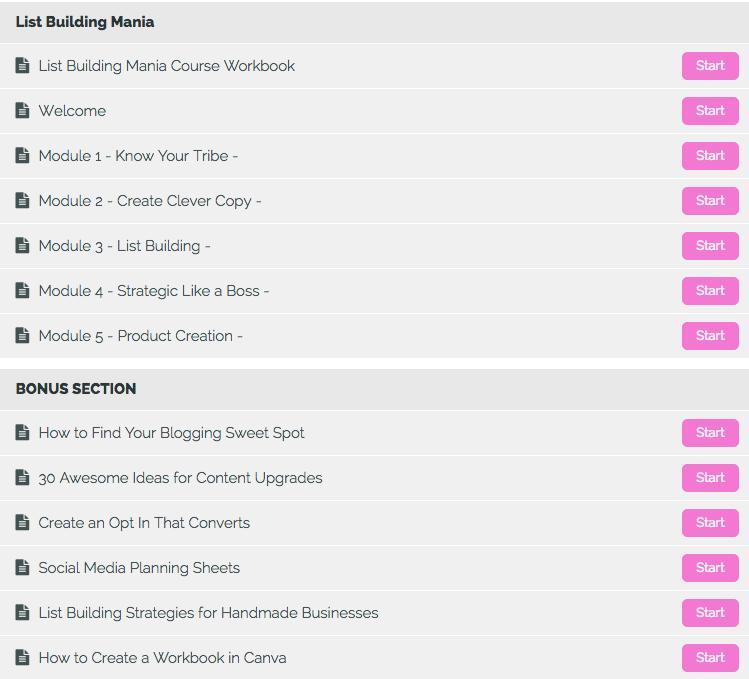 List Building Mania