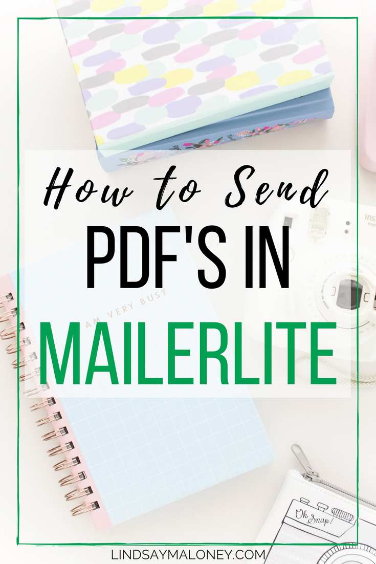 How to Send PDF's in MailerLite