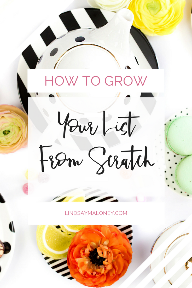 How to Grow Your List From Scratch