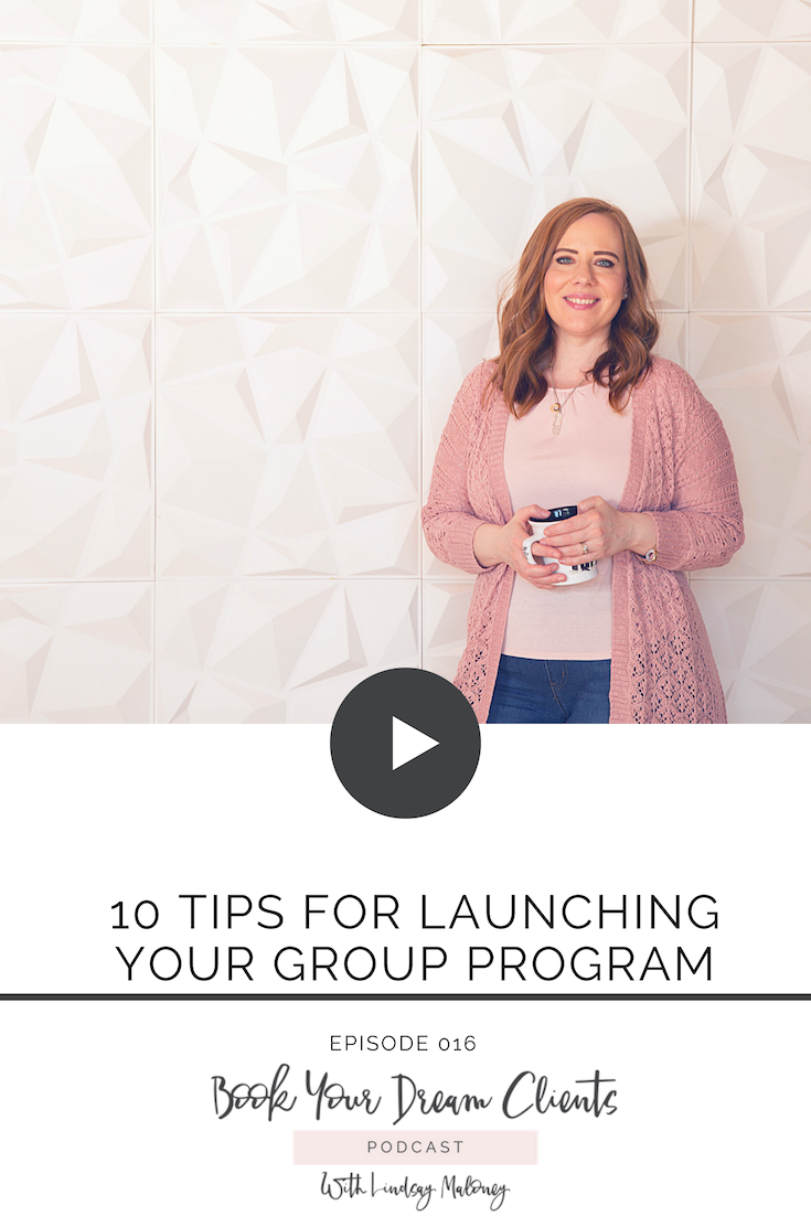 10 Tips for Launching Your Group Program