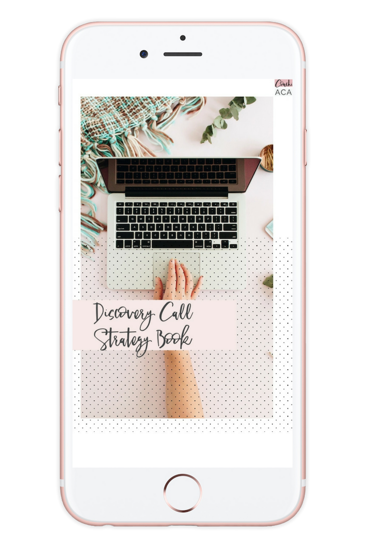 Discovery Call Strategy Book [$157 value] - This is one of our brand new strategies we have started to implement and it totally works! It's been tried and tested! Learn exactly how you can get discovery calls and qualified leads aka fill up your calendar through this simple and easy process! Includes templates and plug and play worksheets!