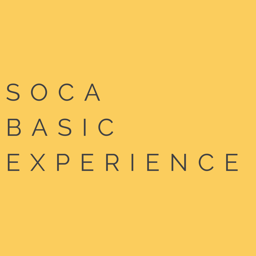 SOCA BASIC PLAN - $97/month (12 month payment plan)✓ 6 Bi-Weekly Group Calls via Zoom + Recordings✓ 6 Robust & Time Released Training Modules✓ Forever Access to the Private Facebook Group✓ Lifetime Access to the Course Material