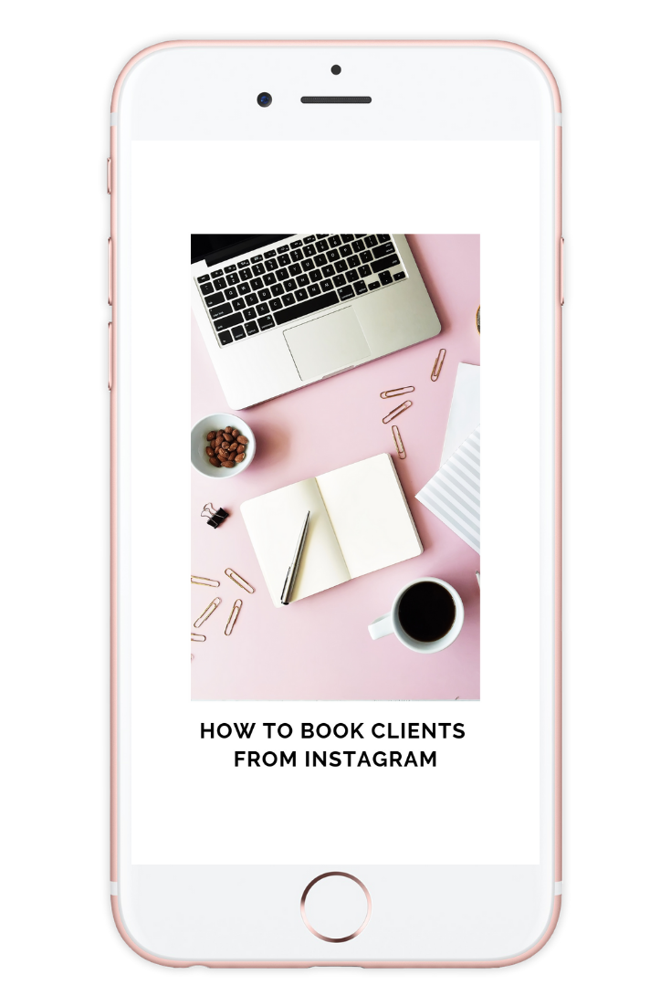 How to Book Clients from Instagram [$157 value] - Instagram is always changing and we put together a 35 minute training for you that is FULL of major takeaways! If you're ready to finally stop worrying about the amount of followers you have and start acting like a CEO then this is a must see training!