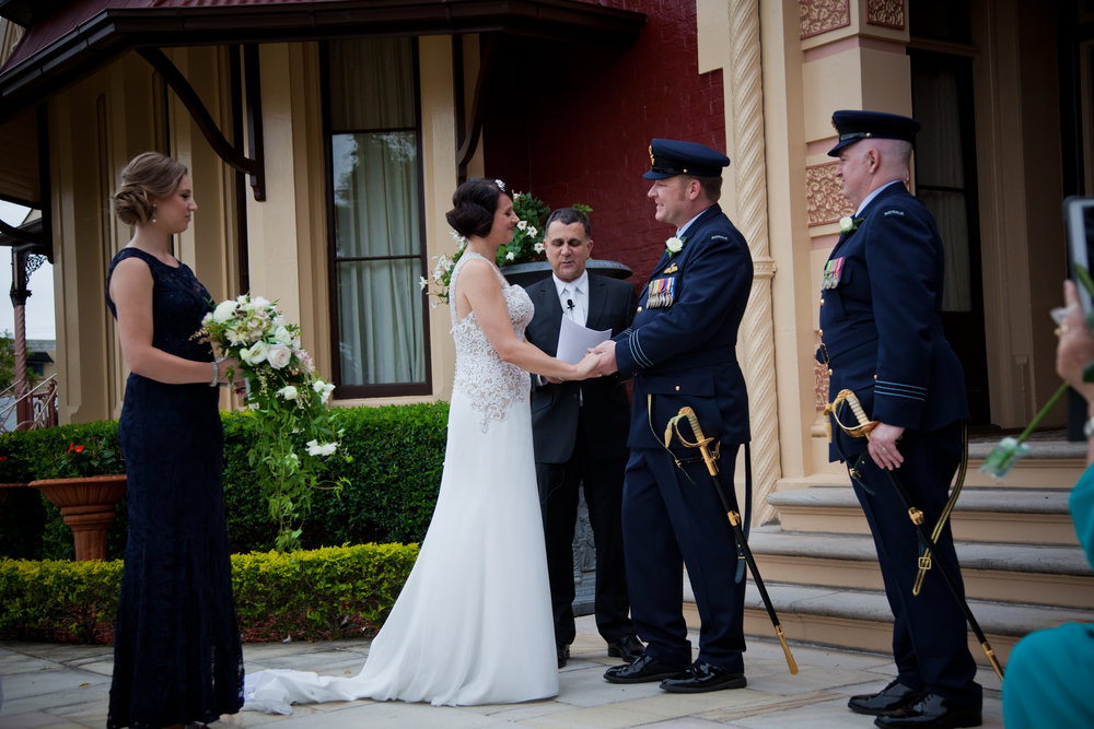 Neal,  Thanks so much.  Lots of very positive comments from friends and family about the ceremony content and conduct. We made it clear that we had benefited from the decision to hire a professional with a great attitude, experience base and option set.  Your advice and delivery in both the planning and execution phases was first rate and a key element in the success of our special day.  Thanks so much  Paul and Fiona.  Ceremony held at Shafston House