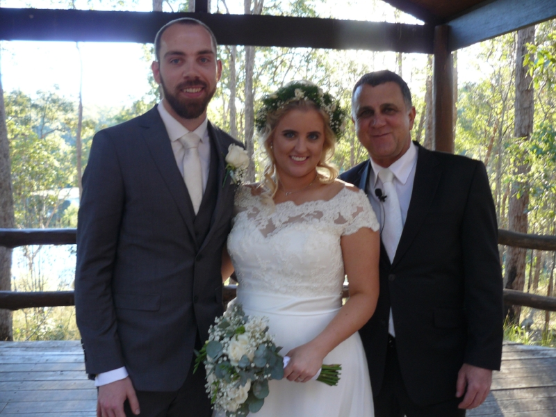 Hi Neal,  Thank you so much for Saturday. The day was amazing.  Thank you from the both of us.  Tamara and Mark  Ceremony held at Walkabout Creek